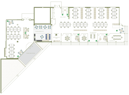 Suite A Space Planning | The Capital Building