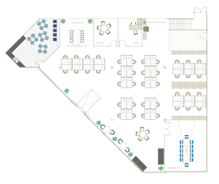 Suite B Space Planning | The Capital Building